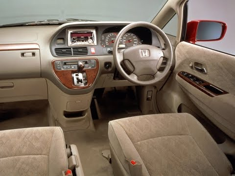 Свистит ремень? Подтянет и ребенок! Хонда Одиссей Honda Odyssey 2001 RA6 F23A 2WD