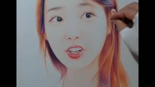getlinkyoutube.com-박기철님그림♥Drawing 아이유 팬아트 IU ART 그림