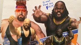 getlinkyoutube.com-WWE ACTION INSIDER: Big Show vs Mark Henry Mattel Battle Pack series 27 Wrestling Figures