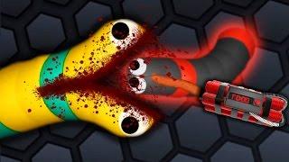getlinkyoutube.com-Slither.io - PERFECT GIANT SNAKE #5 // Epic Slitherio Gameplay! (Slitherio Funny Moments)