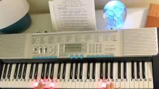 getlinkyoutube.com-How to Play ~ Turkish March (slow motion) ~ Mozart ~ LetterNotePlayer ©