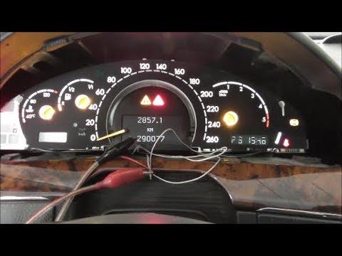 Mercedes S320 W220 2003 - Не работает щиток приборов
