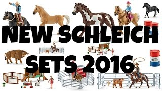 getlinkyoutube.com-NEW SCHLEICH 2016 SETS | horzielover