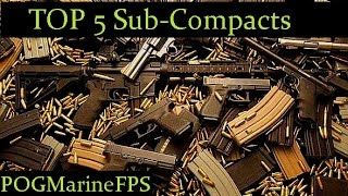 TOP 5 Conceal Carry Sub-Compact Pistols With Manual SAFETY I Have Used in the Past