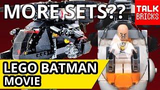 LEGO Batman Movie Future Set Breakdown! More Sets Coming?? Harley's Truck! Egghead Mech! Bat Kayak!