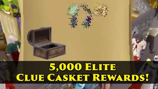 getlinkyoutube.com-Loot from 5000 elite clue scroll caskets!