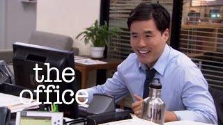 getlinkyoutube.com-Asian Jim // Jim vs Dwight // The Office US