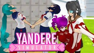 YANDERE SENPAI LOVES 2x MIND SLAVES... - Yandere Simulator Update (Gaming Club Yandere Sim Gameplay)