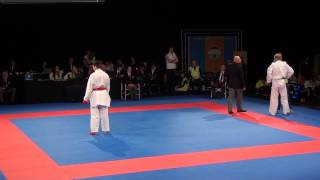 Karate1 PL, Dordrecht 2013 - HORUNA vs. BITSCH - Kumite male -75