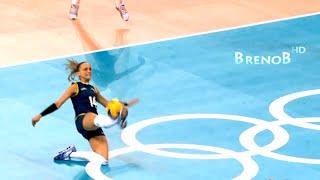 getlinkyoutube.com-TOP 10 Best Women's Volleyball Digs ● BrenoB ᴴᴰ