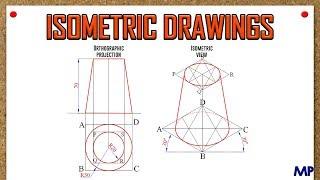 Isometric View_Frustum of Cone