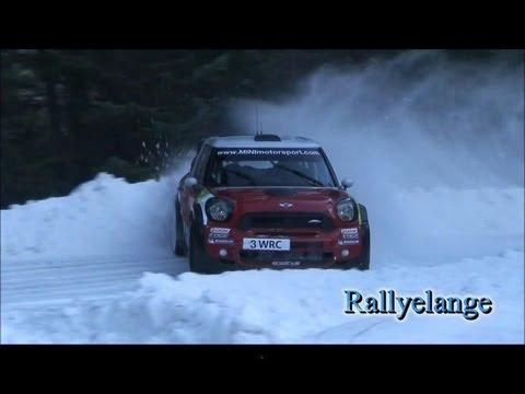 Essais monte carlo 2012 neige Dani Sordo [HD]