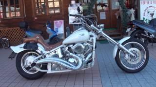 getlinkyoutube.com-マシンガンマフラー 最強アメリカン ホワイトナイト DS400 2002 YAMAHA DragStar 400 2002 ヤマハ・ドラッグスター400