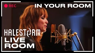 "getlinkyoutube.com-Halestorm - ""In Your Room"" captured in The Live Room"