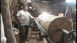 Arte en Torno - Torneado de columna en madera