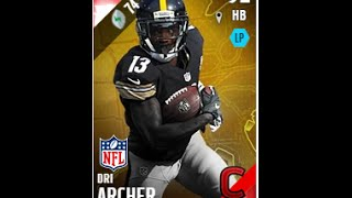 Campus Hero Dri Archer   Player Review   Madden 16 Ultimate Team Gameplay
