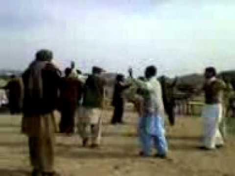 khattak dance at Mity Darga Bangi Khel in Minawali