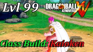 getlinkyoutube.com-Dragonball Xenoverse Class Build: Easy Win Kaioken (Troll Build)