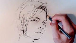getlinkyoutube.com-Cómo hacer un retrato sencillo