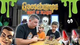 getlinkyoutube.com-Goosebumps: JUMP SCARE - Night Of Scares GAME PLAY [1]