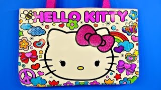 Hello Kitty Sparkling Gemstone Coloring Tote Bag How To Design by Disney Cars Toy Club