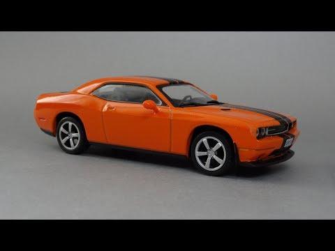 Dodge Challenger SRT8   Суперкары. Лучшие автомобили мира №60   DeAgostini 1:43