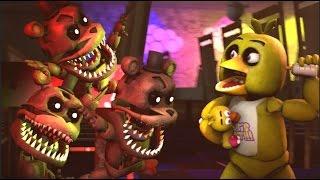 Five Nights at War - Fredlets VS. Baby Animatronics (Short Movie)