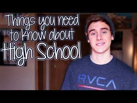 Things You Need To Know About High School