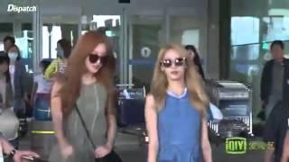 getlinkyoutube.com-STYLISTㅣYoona and Seohyun Airport ^^!