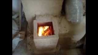 getlinkyoutube.com-Rocket Mass Heater Ciumara Ranni 3.0