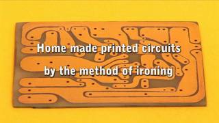 getlinkyoutube.com-Home made printed circuits by the method of ironing