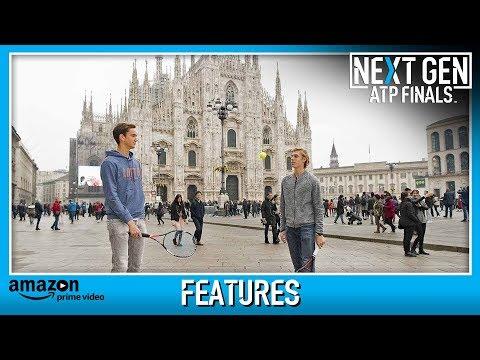 Medvedev and Shapovalov Visit Duomo Di Milano