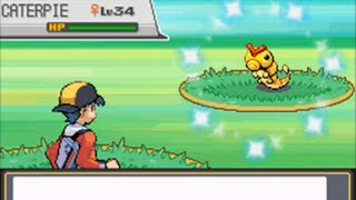 getlinkyoutube.com-LIVE! Shiny Caterpie in the Bug Catching Contest after 5,873 RE's! (HG/SS)
