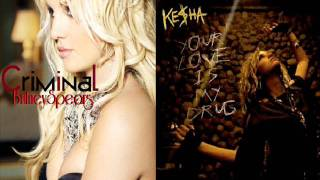 getlinkyoutube.com-Ke$ha FT Britney Spears (Mashup) Your Love Is My Criminal