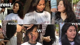 Open Air Mass Haircut Feather and Mid Length Layers