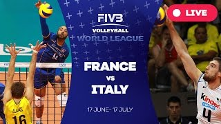 getlinkyoutube.com-France v Italy - Group 1: 2016 FIVB Volleyball World League