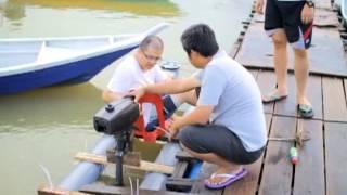 getlinkyoutube.com-DIY PVC pipe kayak Pt.2 with engine