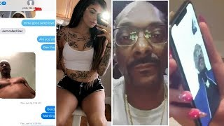 Snoop Dogg Caught Creeping with Celina Powell  FULL TEXT MESSAGES & RECEIPTS! width=