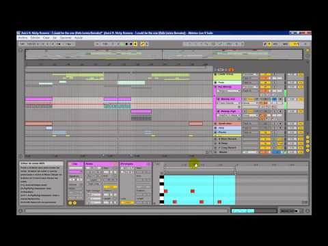Avicii ft. Nicky Romero - I could be the one (Rafa Larrea Remake Ableton live 9 Tutorial)