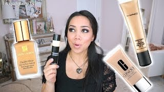 getlinkyoutube.com-Top Favorite High End Foundations - itsjudytime