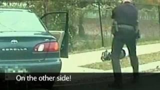 getlinkyoutube.com-Wanted Drug Dealer Getting Tasered