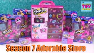 getlinkyoutube.com-Shopkins Adorable Store Collectors Case Season 7 Unboxing | PSToyReviews