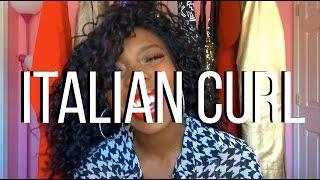 getlinkyoutube.com-Sensationnel Italian Curl Custom Lace Wig