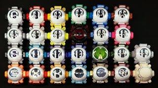getlinkyoutube.com-仮面ライダーゴースト ゴーストアイコン 26種 Kamen Rider Ghost Ghost Eyecon 26 species