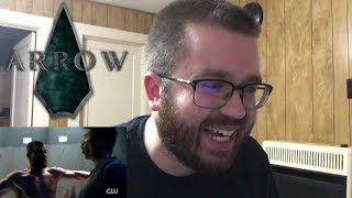 Arrow Season 7 Comic-Con Trailer Reaction!!! width=