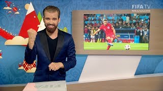 FIFA WC 2018 - COL vs. ENG – for Deaf and Hard of Hearing - International Sign
