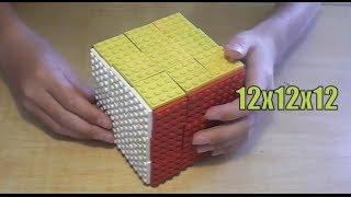 getlinkyoutube.com-Lego Rubik's Cube 3x3x3 (12x12x12)