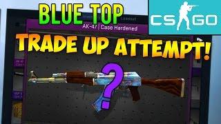 getlinkyoutube.com-CS GO Trade Up: AK-47 Case Hardened Blue Top Attempts! (CS:GO Rare Skins Trade Ups)