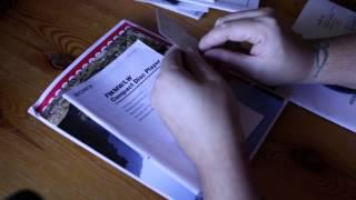 getlinkyoutube.com-Sorting through instruction booklets and manuals, ASMR, no talking