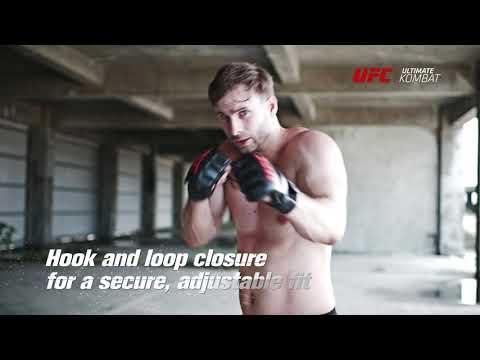 UFC Contender MMA Grappling Gloves Small/Medium - Black